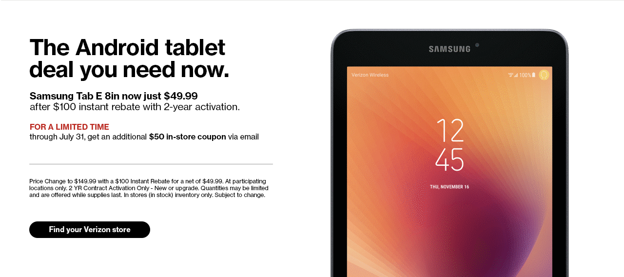 The Android tablet deal you need now.